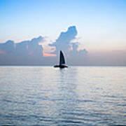 Sailing Daybreak Poster