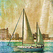 Sailing Dreams On A Summer Day Poster