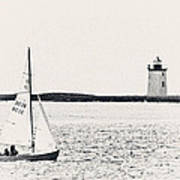 Sailing In Cape Cod Poster
