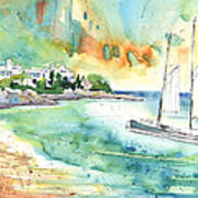 Sailing In Saint Martin Poster