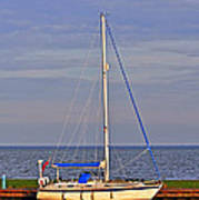 Sailing In Volendam Poster