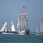 Sailing Lake Erie Poster