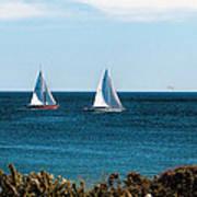 Sailing Watch Hill Ri Poster