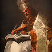 Saint Gregory The Pope Poster