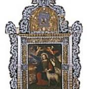Saint John. Colonial Baroque. Oil Poster