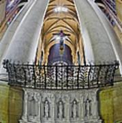 Saint John The Divine Rear Altar View Poster
