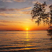 Saint Lawrence River Sunset V Poster