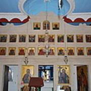 Saint Nicholas Erikousa 1822 Poster