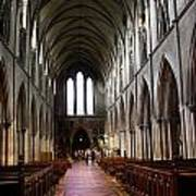 Saint Patrick's Cathedral Interior Dublin Poster