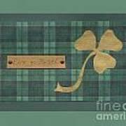 Saint Patricks Day Collage Number 4 Poster