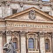 Saint Peters Basilica Rome Poster