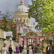 Saint Petersburg Saint Alexander Cathedral Poster
