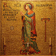 Saint Susanna Altar Poster