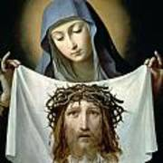 Saint Veronica Poster by Guido Reni