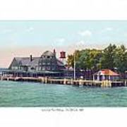 Sainte Claire Flats - Michigan - The Old Club - 1920 Poster