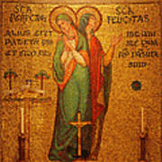 Saints Perpetua And Felicitas Altar Poster