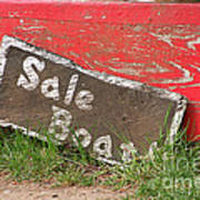 Sale Boat Poster