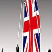 Sail On Brittania Poster