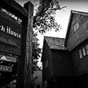 Salem's Witch House Poster