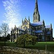 Salisbury Cathedral. 1220-1258. United Poster