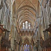 Salisbury Cathedral Quire And High Altar Poster