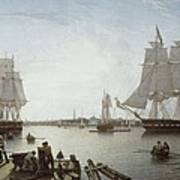 Salmon, Robert 1775-1845. Boston Poster