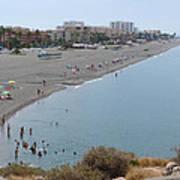 Salobrena Beach Poster