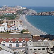 Salobrena Coastline Poster