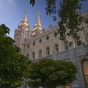 Salt Lake City Temple Poster