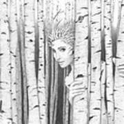 Forest Girl Poster