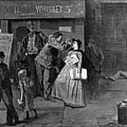 Salvation Army In Slums Poster by Granger