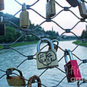 Salzburg Gypsy Locks Poster
