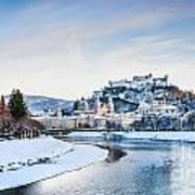 Salzburg Winter Fairy Tale Poster