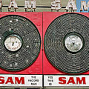 Sam The Record Man Poster