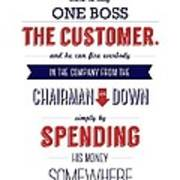 Sam Walton Quotes Poster Poster
