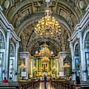 San Agustin Church  Poster