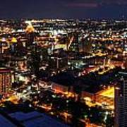 San Antonio - High Above San Antonio Poster
