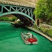San Antonio Riverwalk Poster by Stefon Marc Brown