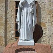 San Antonio Statue Poster