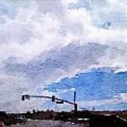 San Benito Sky Poster