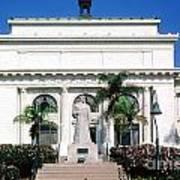 San Buenaventura City Hall Building California Poster