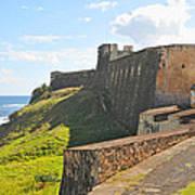 San Christobal Castle Old San Juan Poster