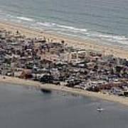 San Diego Coast Aeriol 3 Poster