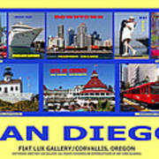 San Diego Composite Poster