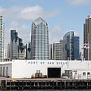 San Diego Port Poster