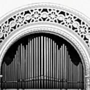 San Diego Spreckels Organ Poster