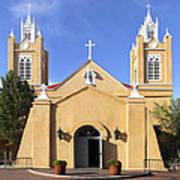 San Felipe Church - Old Town Albuquerque   Poster