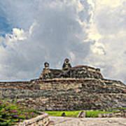 San Felipe Fort Poster
