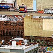 San Francisco Backstage Graffiti Poster