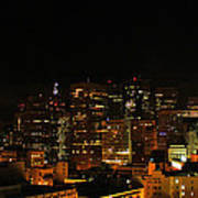San Francisco By Night Poster